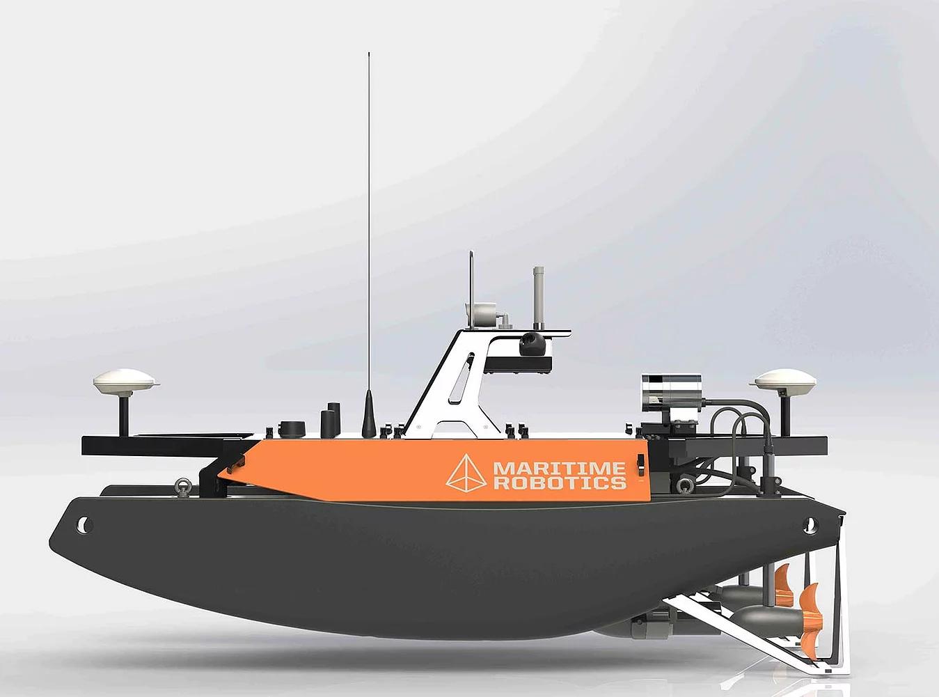 OTTER [USV] 水獭无人船(图1)